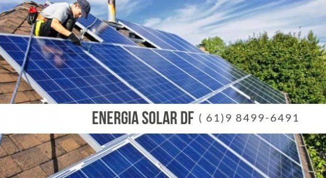 Energia Solar em Taguatinga DF