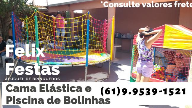 Félix Festas - Aluguel de Casinha de Bolinha Sobradinho DF - Ligue já