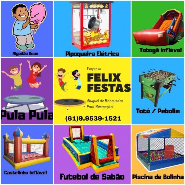 Félix Festas Aluguel de Brinquedos
