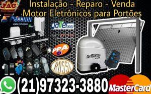instalação - reparo - venda Motor eletrônico para Portões