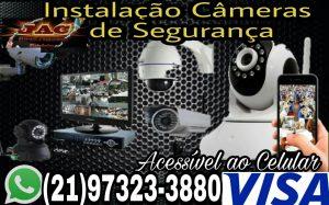 Instalação Câmeras Segurança Ilha do Governador RJ
