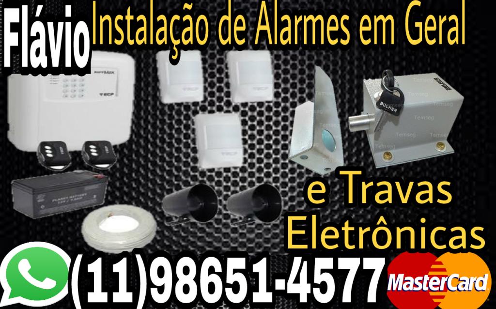 Instalação de Alarmes em Geral