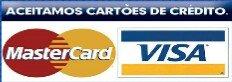 Aceitamos Cartões de Crédito - Limpa Lava Pisos Butantã SP