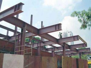 Integral Construções - Estrutura Metálica para Terraço Itaguaí RJ