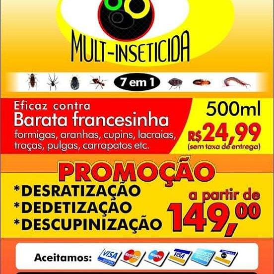 Empresa de Dedetização em Cascadura RJ