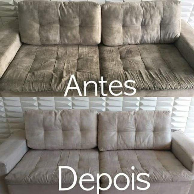 Higienização Sofá João Pessoa PB
