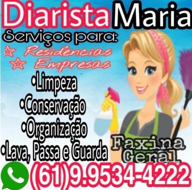 Empregada Doméstica em Águas Claras DF