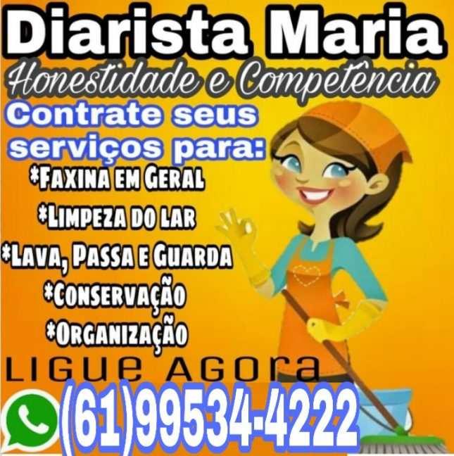 Empregada Doméstica em Taguatinga DF