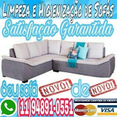 Limpa Lava Sofa em Santo Andre SP