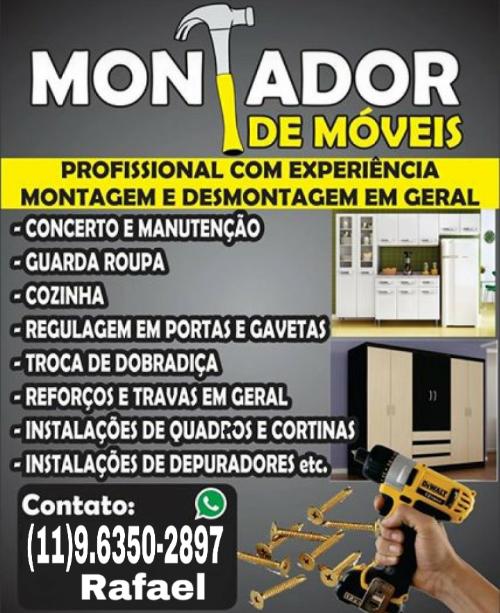 Montador de Móveis em Carapicuíba SP