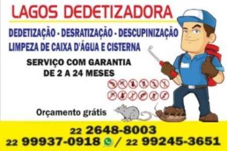 Empresa de Dedetização em Cabo Frio RJ