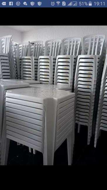 Aluguel de Cadeiras e Mesas João Pessoa PB