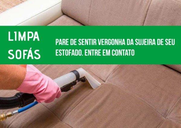 Limpa Lava Sofás Parque São Pedro SP