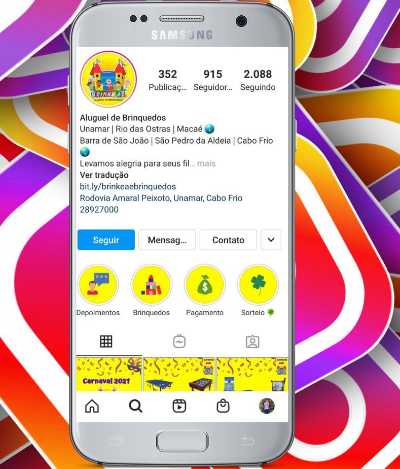 Instagram Clique aqui